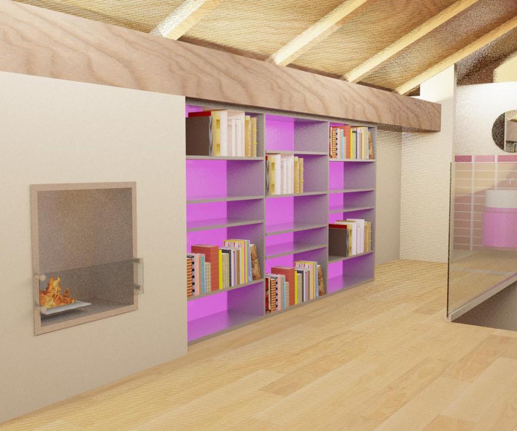 Libreria - Rendering